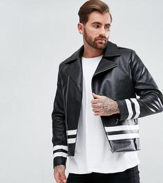 Куртка в полоску Liquor N Poker - Черный