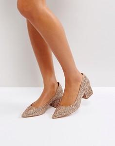 Туфли на среднем блочном каблуке ASOS SIMPLY - Мульти