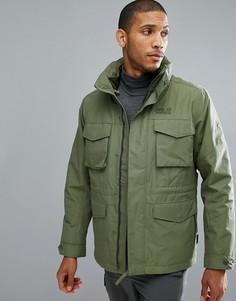 Куртка 3 в 1 цвета хаки Jack Wolfskin Port Hardy - Зеленый