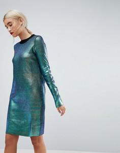 Трикотажное платье мини ASOS - Мульти