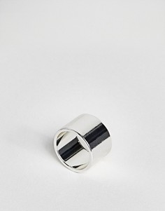 Кольцо на мизинец ASOS - Серебряный