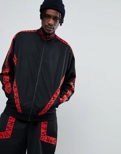 Спортивная oversize-куртка с отделкой кантом ASOS x Star Wars - Черный