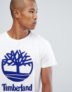 Белая футболка с логотипом Timberland - Белый