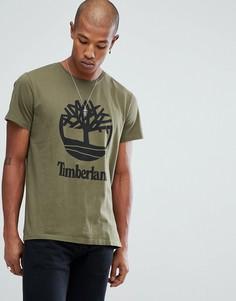 Зеленая футболка Timberland - Зеленый