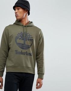 Худи зеленого цвета с логотипом Timberland - Зеленый