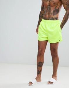 Желтые короткие шорты для плавания Nike Volley NESS8509-737 - Желтый