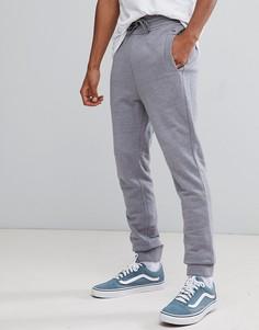 Серые меланжевые джоггеры с логотипом Tommy Jeans - Серый Hilfiger Denim