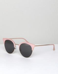 Розовые солнцезащитные очки в стиле ретро AJ Morgan Sheva - Розовый