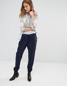 Широкие брюки со складками Pimkie - Черный