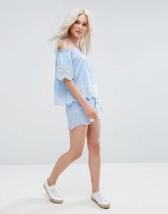 Ажурные шорты Pimkie - Синий