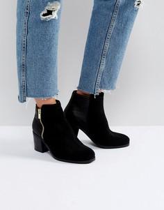 Ботинки на каблуке с молниями Carvela - Черный