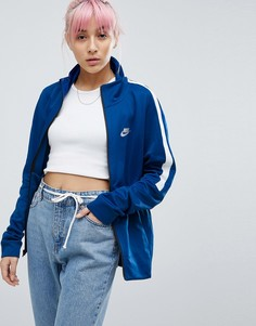 Синяя спортивная куртка Nike Classic - Синий