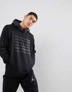 Черный худи с логотипом Nike Jordan 23 908354-010 - Черный