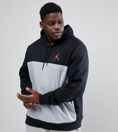 Черный худи Nike Jordan PLUS 884042-010 - Черный