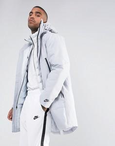 Серый пуховик 2 в 1 Nike Aeroloft 863730-012 - Серый