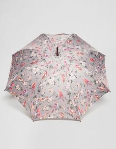 Серый зонт с птицами Cath Kidston - Мульти