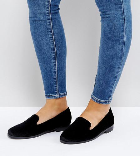 Туфли на плоской подошве для широкой стопы ASOS MALBEC - Черный