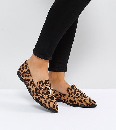 Туфли на плоской подошве для широкой стопы с острым носком ASOS MELVIN - Мульти