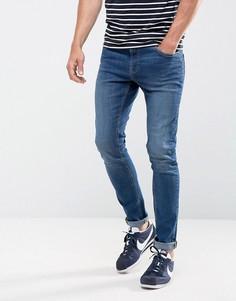 Эластичные джинсы скинни цвета индиго LDN DNM - Синий