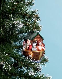 Новогодний шар Ноев ковчег Sass & Belle - Мульти