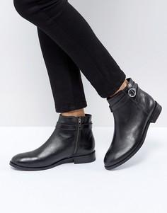 Кожаные ботинки H by Hudson - Черный
