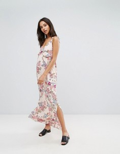 Платье макси с цветочным принтом Pimkie - Розовый
