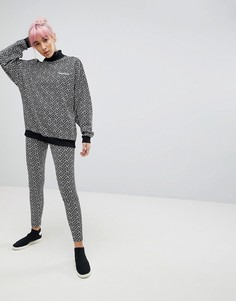 Леггинсы с принтом adidas Originals - Белый