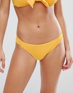 Плавки бикини в стиле танга Pimkie - Желтый