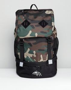 Рюкзак из кордюра с камуфляжным принтом Penfield Dixon Trail - Зеленый
