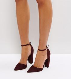 Туфли на каблуке с острым носком ASOS PENALTY - Красный