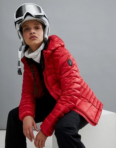 Красная куртка с капюшоном Napapijri - Красный