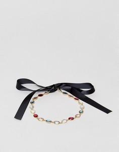 Повязка на голову с разноцветными камнями Johnny Loves Rosie - Мульти