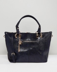 Мешковатая сумка-шоппер Dune Daloris - Темно-синий