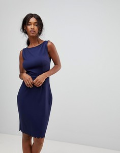 Платье из двойного трикотажа Sugarhill Boutique - Темно-синий