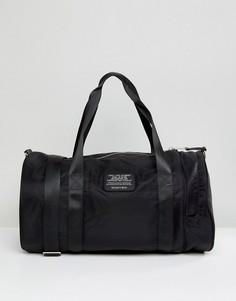 Черная нейлоновая дорожная сумка Schott - Черный