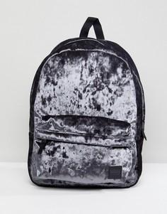 Бархатный рюкзак Vans - Серый