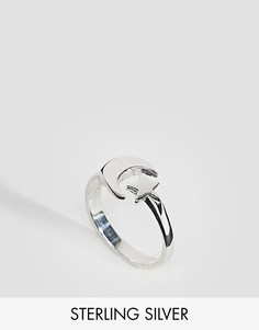 Серебряное кольцо Fashionology - Золотой