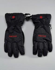 Черные лыжные перчатки Marmot - Черный
