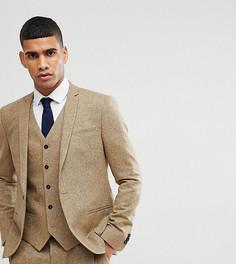 Облегающий пиджак Noak - Светло-бежевый