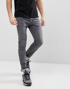 Серые джинсы стретч HUGO 734 - Серый