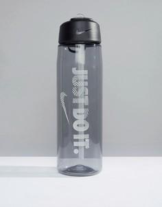 Серая бутылка для воды вместимостью 680 мл Nike Training Just Do It OB.A5-029 - Синий