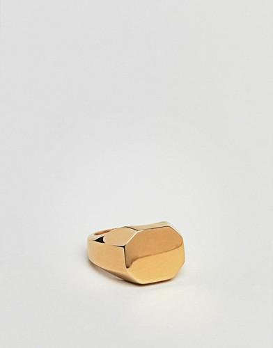 Золотистое кольцо на мизинец Seven London - Золотой