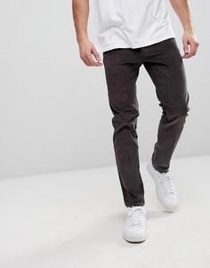 Вельветовые брюки скинни Burton Menswear - Серый