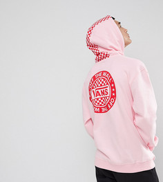 Розовый оверсайз-худи с принтом на спине Vans эксклюзивно для ASOS - Розовый