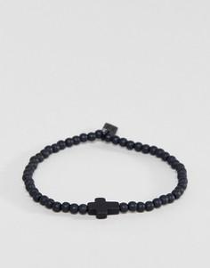 Черный браслет Icon Brand - Черный
