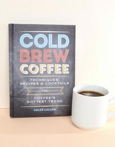 Книга с рецептами коктейлей и технологями их приготовления Cold Brew Coffee - Мульти Books