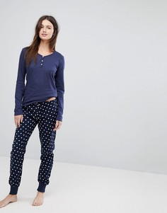 Пижама со звездным принтом Esprit - Мульти