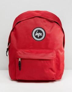 Красный рюкзак с нашивкой Hype - Красный