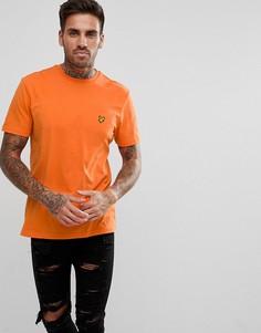 Оранжевая футболка Lyle & Scott - Оранжевый