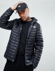 Черная дутая куртка с принтом флагов на подкладке The North Face International Limited Capsule - Черный